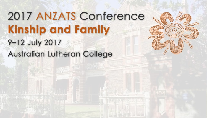 ANZATS Conference and Public Lecture